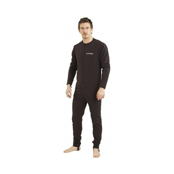 Fleece hel M Typhoon  Typhoon Lightweight Undersuit Sort  M Superlett fleece vams heldress KAMPANJE